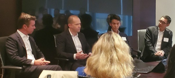 Andrew and Other Panelists Discussing Quantum Computing
